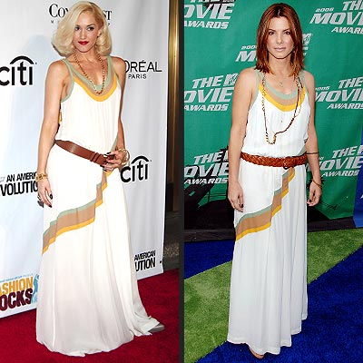 GWEN VS. SANDRA photo | Gwen Stefani, Sandra Bullock