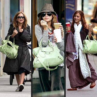 BALENCIAGA BAG photo | Mary-Kate Olsen