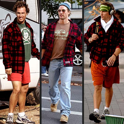 FLANNEL SHIRT photo | Matthew McConaughey