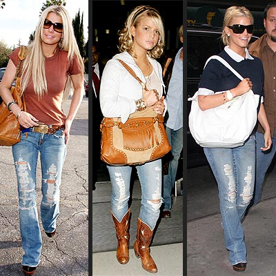 CHIP AND PEPPER JEANS photo | Jessica Simpson