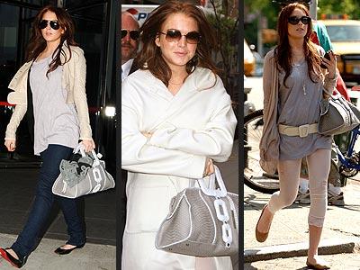 CALVIN KLEIN BAG photo | Lindsay Lohan