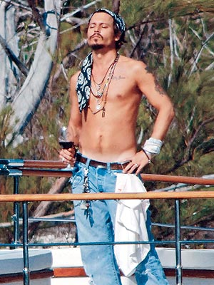 HIS GOOD LOOKS photo | Johnny Depp desktop wallpaper