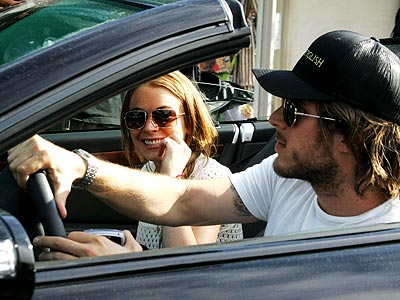 IN THE DRIVER'S SEAT photo | Harry Morton, Lindsay Lohan