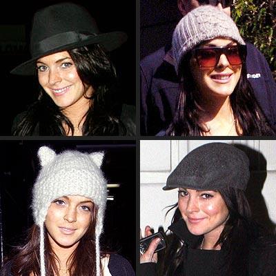 HER MANY HATS photo | Lindsay Lohan
