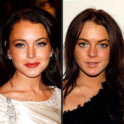 DRAMATIC VS. NATURAL photo | Lindsay Lohan