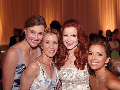 AMONG FRIENDS photo | Brenda Strong, Eva Longoria, Felicity Huffman, Marcia Cross