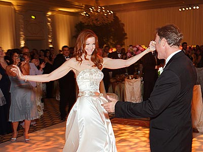 FIRST DANCE photo | Marcia Cross
