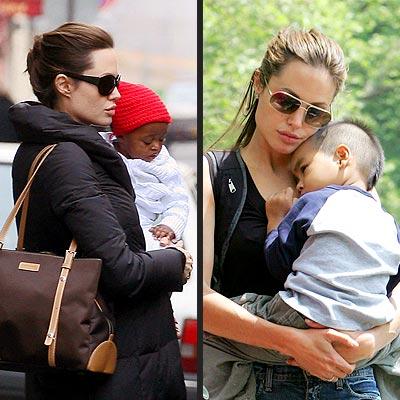 ANGELINA, MADDOX & ZAHARA photo | Angelina Jolie