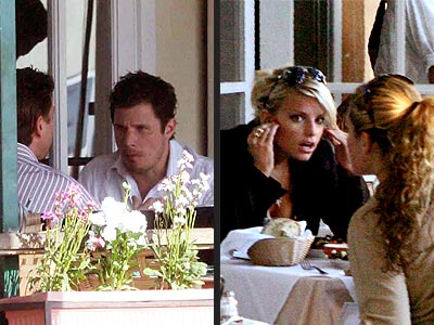 SERIOUS BUSINESS photo | Jessica Simpson, Nick Lachey