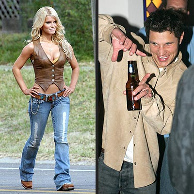 JAN. 27/FEB. 4 photo | Jessica Simpson, Nick Lachey