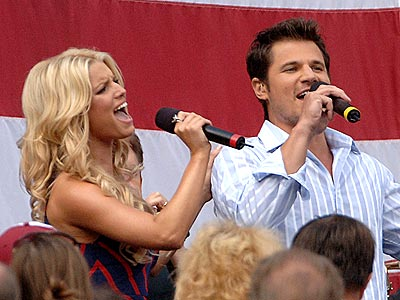 SEPT. 11 photo | Jessica Simpson, Nick Lachey
