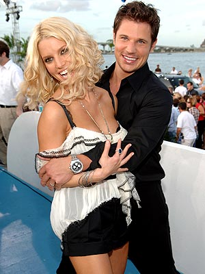AUG. 28 photo | Jessica Simpson, Nick Lachey