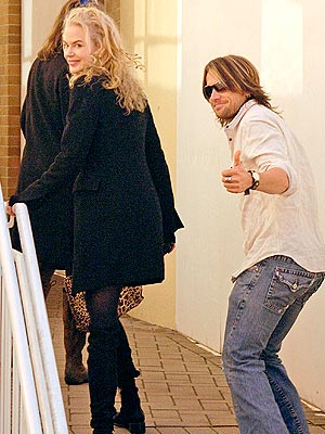 BACK DOWN UNDER photo | Keith Urban, Nicole Kidman