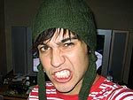 Pete Wentz's VMA Scrapbook Photos