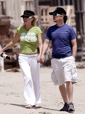 HEATHER & DAVID photo | David Spade, Heather Locklear