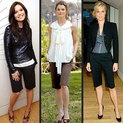 WALKING SHORTS photo | Keri Russell, Mandy Moore, Rebecca Romijn