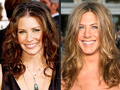 TREND: BEACHY HAIR  photo | Evangeline Lilly, Jennifer Aniston