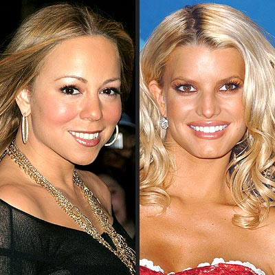 TREND: ALL-OVER BRONZE photo | Jessica Simpson, Mariah Carey