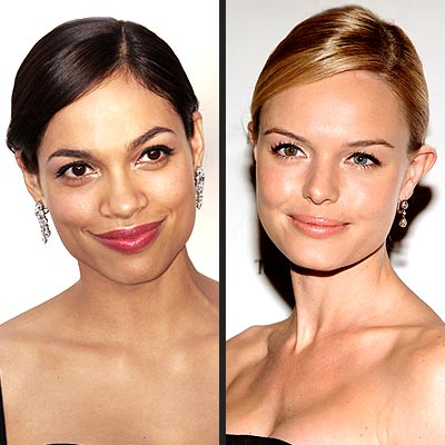 TREND: SLEEK UPDOS photo | Kate Bosworth, Rosario Dawson