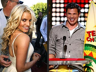 Teen Choice Awards: The Ex Factor | Jessica Simpson, Nick Lachey
