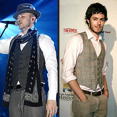 ADAM photo | Adam Brody, Justin Timberlake