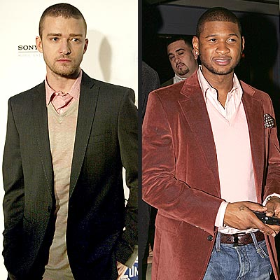 JUSTIN VS. USHER photo | Justin Timberlake, Usher