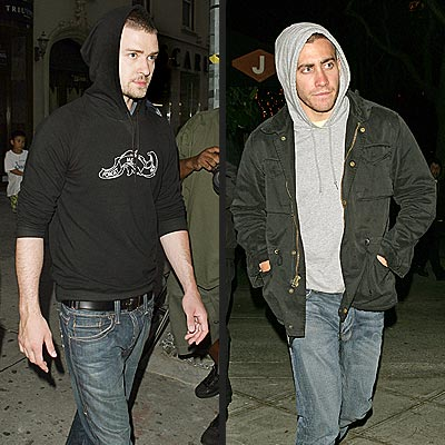 JUSTIN VS. JAKE photo | Jake Gyllenhaal, Justin Timberlake