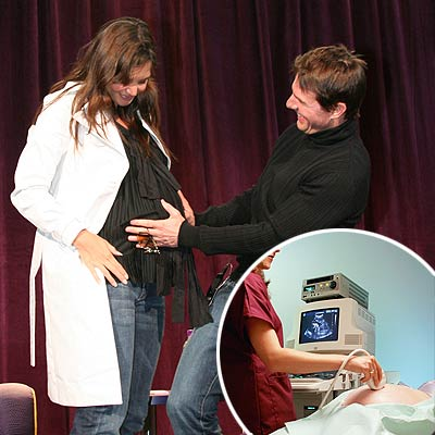 6. THEIR HOME SONOGRAM MACHINE  photo | Katie Holmes, Tom Cruise