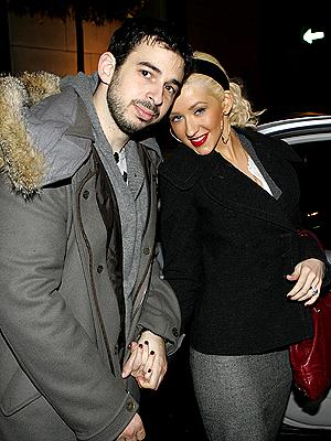 5. CHRISTINA & JORDAN  photo | Christina Aguilera, Jordan Bratman