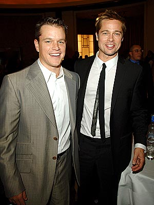 GOODWILL HUNTING photo | Brad Pitt, Matt Damon