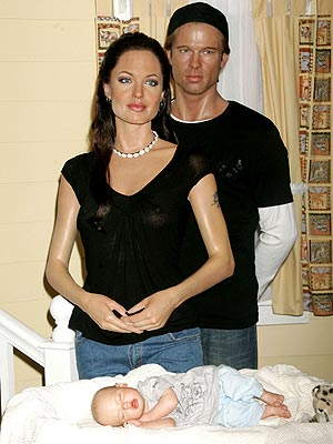 Brad Pitt and Angelina Jolie parents of twins.