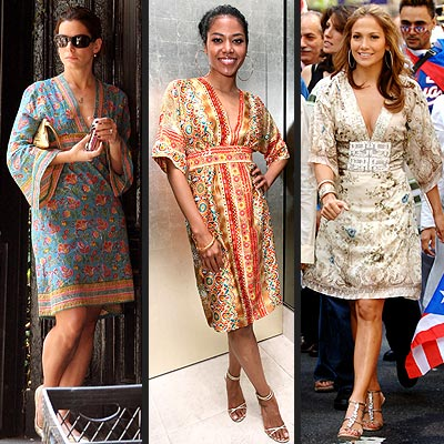 KIMONO DRESSES photo | Amerie, Jennifer Lopez, Sandra Bullock