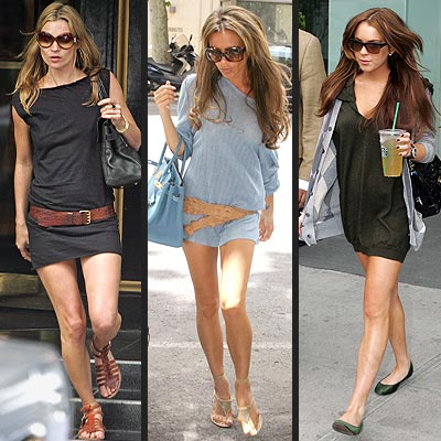 SHIRT DRESSES photo | Kate Moss, Lindsay Lohan, Victoria Beckham
