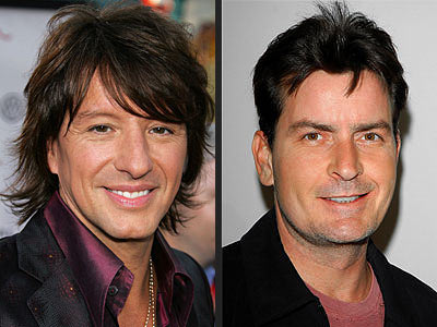 RICHIE SAMBORA VS. CHARLIE SHEEN photo | Charlie Sheen, Richie Sambora