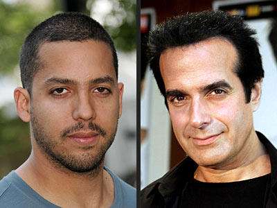 DAVID BLAINE VS. DAVID COPPERFIELD photo | David Blaine, David Copperfield