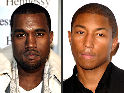 KANYE WEST VS. PHARRELL WILLIAMS photo | Kanye West, Pharrell Williams