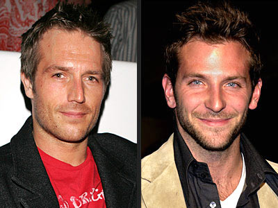 MICHAEL VARTAN VS. BRADLEY COOPER photo | Bradley Cooper, Michael Vartan