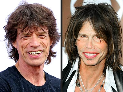 Who Would You Date? Vote Now - MICK JAGGER VS. STEVEN TYLER - Mick Jagger,