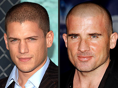 WENTWORTH MILLER VS. DOMINIC PURCELL photo | Dominic Purcell, Wentworth Miller