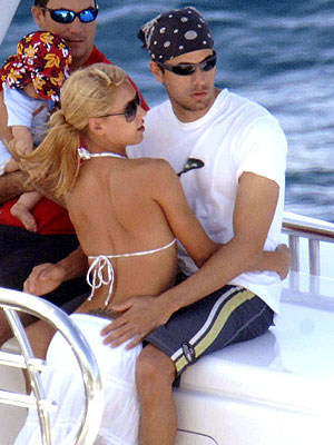 ST. BART'S photo | Anna Kournikova, Enrique Iglesias