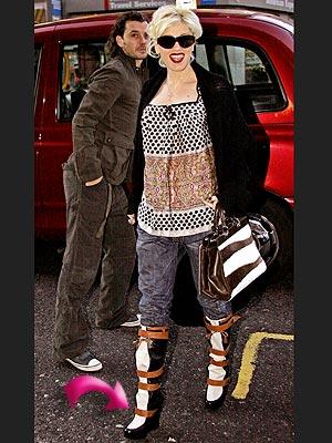 GWEN'S BOOTS photo | Gwen Stefani