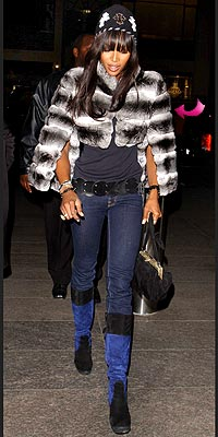 NAOMI'S FUR photo | Naomi Campbell