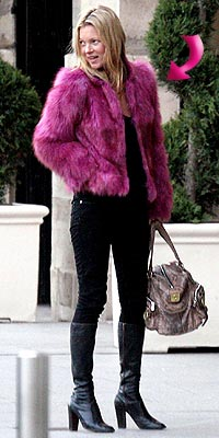 KATE'S FUR photo | Kate Moss