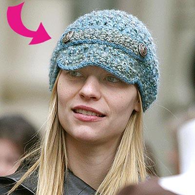 CLAIRE'S CAP photo | Claire Danes