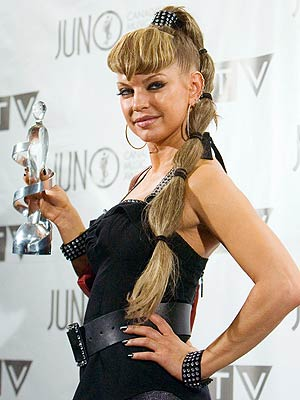 FERGIE'S PONYTAIL photo | Fergie