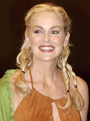 SHARON&#39;S BRAIDS photo | Sharon Stone