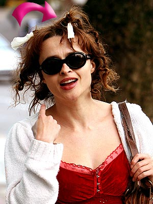 HELENA'S HAIR photo | Helena Bonham Carter