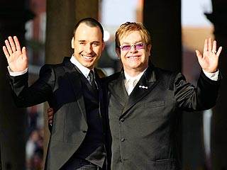 Elton John Marries Longtime Partner