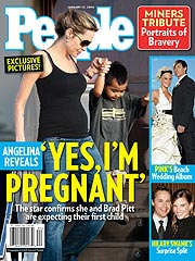 Angelina Jolie Pregnant! | Brad Pitt