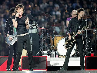 Stones' Sounds of Silence at Super Bowl